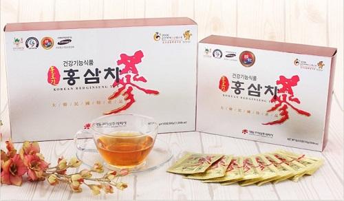 trà hồng sâm hàn quốc 100 gói daedong