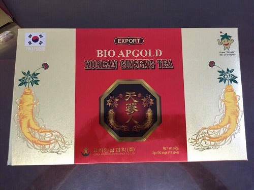 trà hồng sâm hàn quốc bio apgold