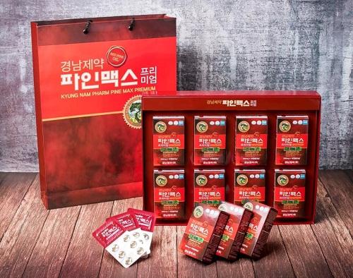 tinh dầu thông đỏ kyungnam hàn quốc