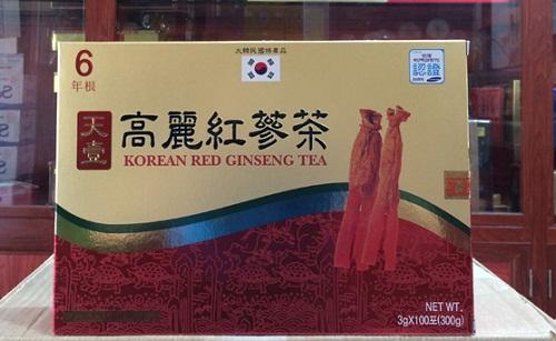 Trà hồng sâm Hàn Quốc Dongwon hộp 100 gói