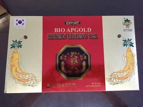 trà hồng sâm bio apgold