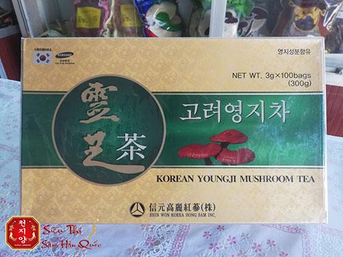 Trà Linh Chi Hàn Quốc Hộp Giấy 100 Gói