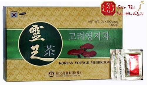 Đối tượng sử dụng trà linh chi hộp giấy 100 gói