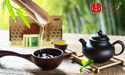 Công dụng của trà linh chi đỏ Hàn Quốc
