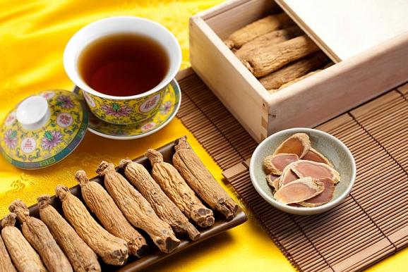 trà nhân sâm khô bảo vệ sức khỏe