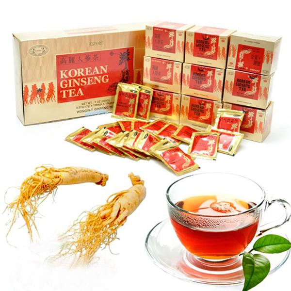 Tác dụng trà nhân sâm hàn quốc korean ginseng tea