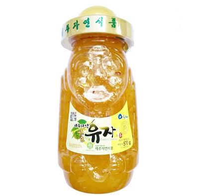 Trà Thanh Yên Mật Ong Đảo Jeju Hàn Quốc 570g Mẫu Mới Nhất