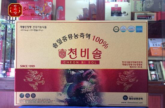 Kinh nghiệm mua tinh dầu thông đỏ Hàn Quốc