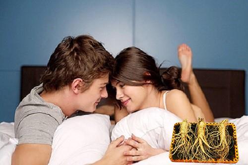 nhân sâm giúp kích thích sinh lý cả nam lẫn nữ